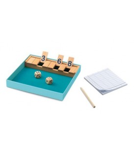 Juegos Clasicos Shut The Box DJECO