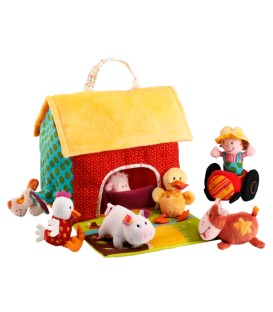 The Farm House And Its Animals LILLIPUTIENS