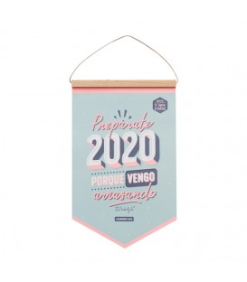 Calendario Mr Wonderful Pared 2020