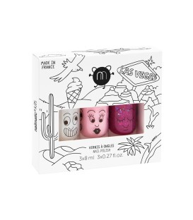 Pack De Tres NAILMATIC