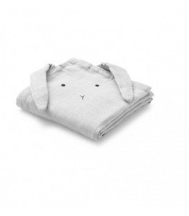 Muselina Swaddle Conejo Gris LIEWOOD