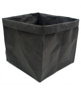 Caja De Almacenaje Papel Negro HOUSEOFPRODUCTS