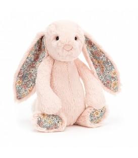 Peluche Jellycat Mini Conejo Rosa Flores