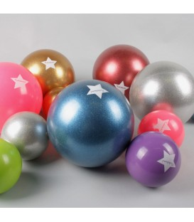 Ballon pailleté diam. 15 cm SILVER RATATAM
