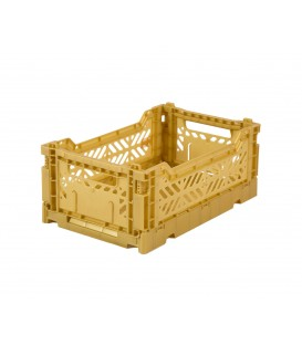 Caja Lillemor Plegable Mediana Gold