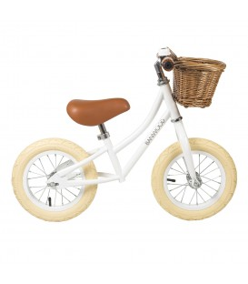 Bicicleta First Go Blanco BANWOOD