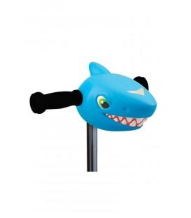 Cabeza Patinete Tiburon Azul