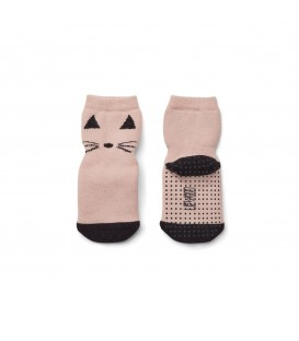 Calcetines Nellie Antideslizantes Rosa Gato LIEWOOD