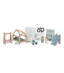Habitacion Infantil para Casa de Muñecas LITTLE DUTCH