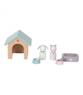 Set de Mascotas para Casa de Muñecas LITTLE DUTCH