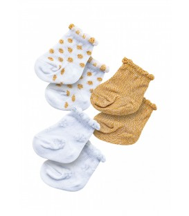 Set 3 Pares Calcetines Muñeca 28-35cm Heless