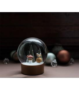 Bola de Nieve Navidad Forest FABELAB