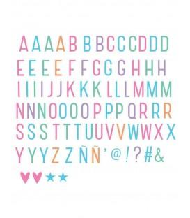 85 Letras Y Símbolos Pastel A LITTLE LOVELY COMPANY