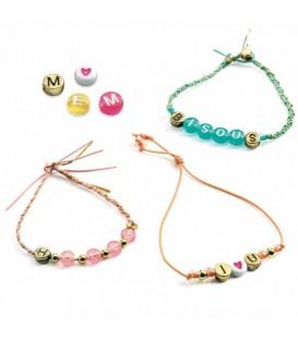 Djeco Kit de Perlas y Alfabeto