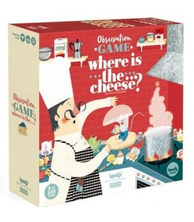 Where is the... cheese? Juego de Mesa LONDJI