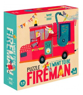 Puzzle I Want To Be... Fireman LONDJI