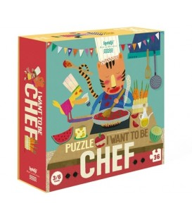 Puzzle I Want To Be... Chef LONDJI
