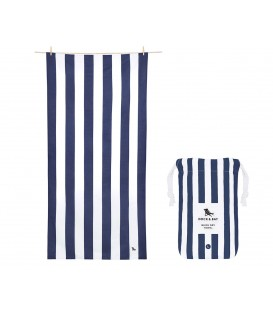 Toalla Cavana Navy Talla XL DOCK & BAY