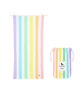 Toalla Summer Rainbow Talla L DOCK & BAY