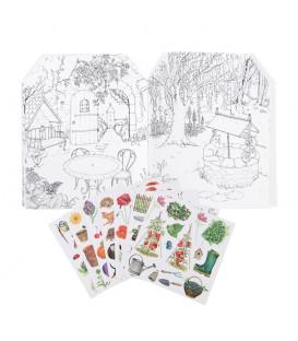 Cuaderno Pegatinas El Jardinero MOULIN ROTY