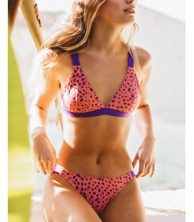 Bañador Bikini Animal Print TO THE MOON