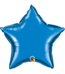 Estrella Foil Azul Sapphire