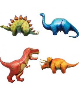 Globo Foil Estegosaurio
