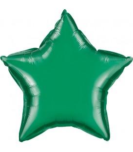 Estrella Foil Verde Esmeralda GRABO