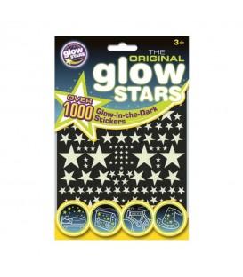 1000 Estrellas Fluorescentes BRAINSTORM