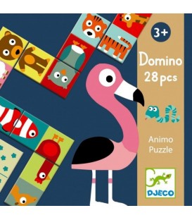 Educativos Domino Animo - puzzle