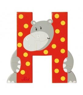 Sevi Letra H Hipopotamo