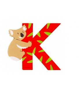Letra K Koala SEVI