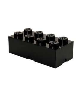 Lego Brick 8 de Almacenamiento Negro Xanas