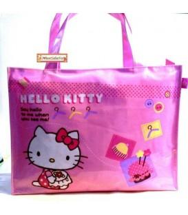 Bolsa Tote Rosa Hello Kitty