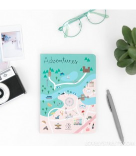 Mr. Wonderful Libreta Lovely Streets AVENTURAS