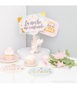 Mr. Wonderful Accesorios para Photocall - Mensajes