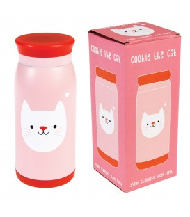 Botella de Acero Cookie the Cat