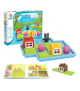 Smart Games Los Tres Cerditos Deluxe
