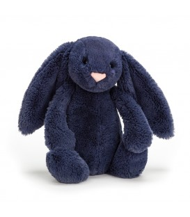 Bashful Navy Bunny Small Jellycat