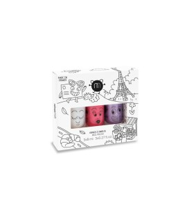 Nailmatic Pack 3 Pintauñas City