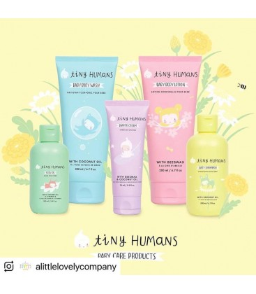Tiny Humans: Baby Oil With Sesame Oil & Vitamin E