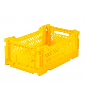 Caja Lillemor Plegable Mini Yellow