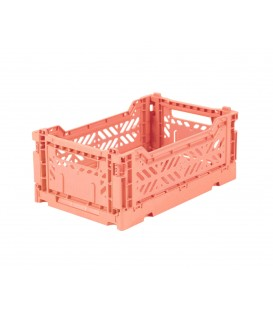 Caja Lillemor Plegable Mini Salmon