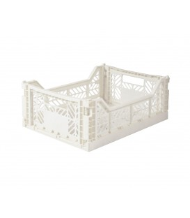 Caja Lillemor Plegable Mediana Coconut White