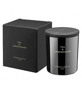 Vela Vaso Cera Vegetal XL 2 Mechas 700Gr. Tea & Lemongrass
