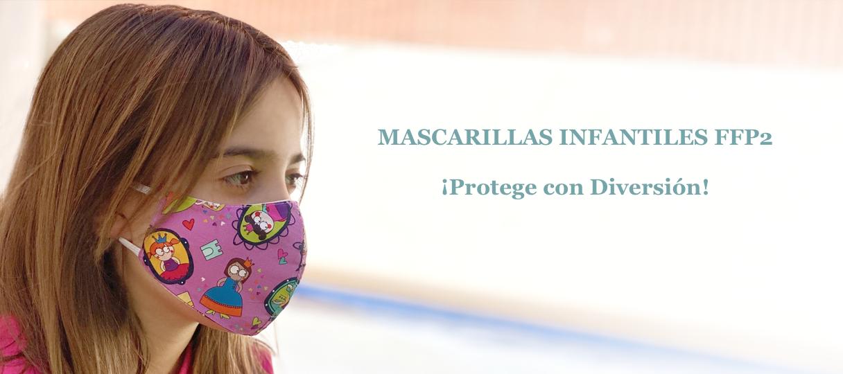 Mascarilla Infantil FFP2 con Dibujos
